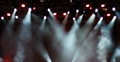 Concert light show, Stage lights background